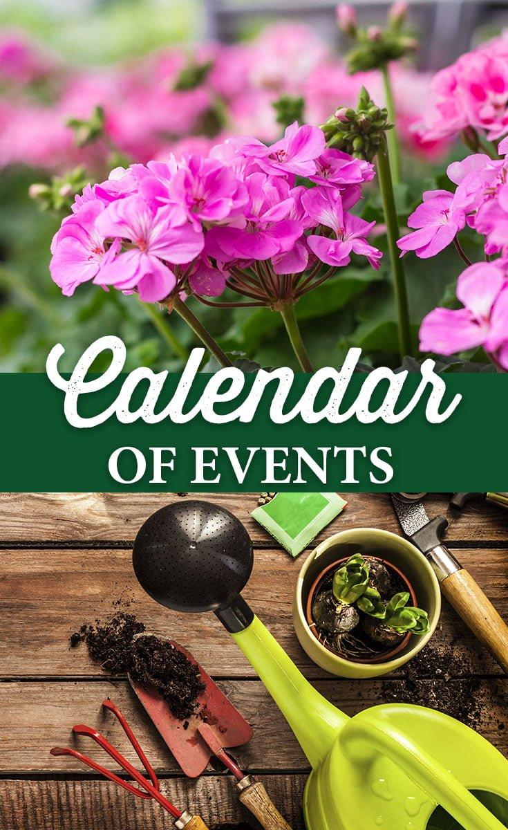 Calendar of Events 2016